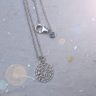 Wanderlust Puck Mini Moon Mandala Pendant