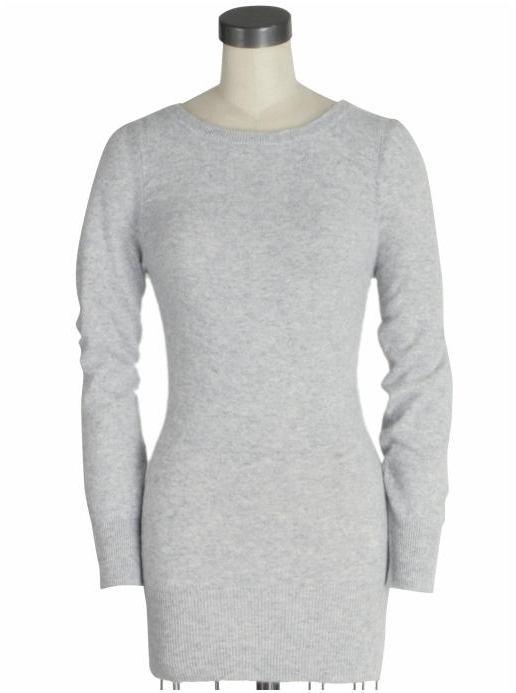 LA Made Lyla Keyhole Cashmere Sweater