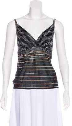 Missoni Sleeveless Striped Top