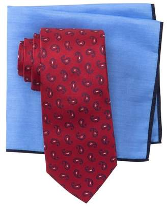 Ted Baker Tossed Pine Neat Tie Set
