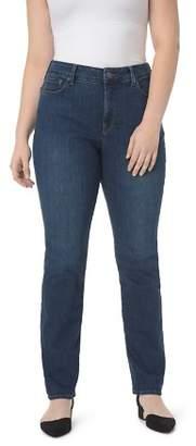 NYDJ Plus Marilyn Straight Leg Jeans in Cooper