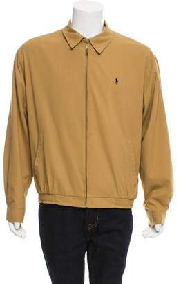 Polo Ralph Lauren Point Collar Zip-Up Jacket