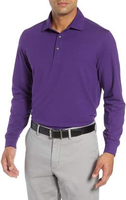 Bobby Jones 'Liquid Cotton' Long Sleeve Jersey Polo