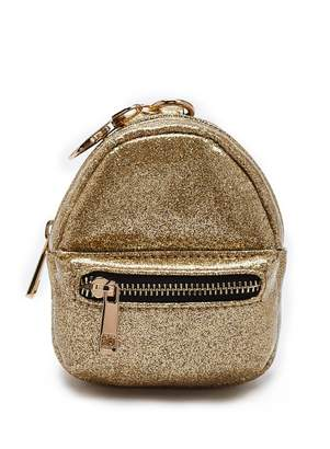 Forever 21 Faux Patent Leather Glitter Coin Purse