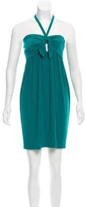 Norma Kamali Mini Halter Dress