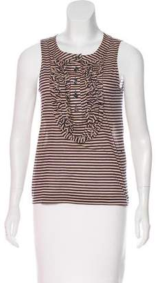 Chanel Striped Knit Top