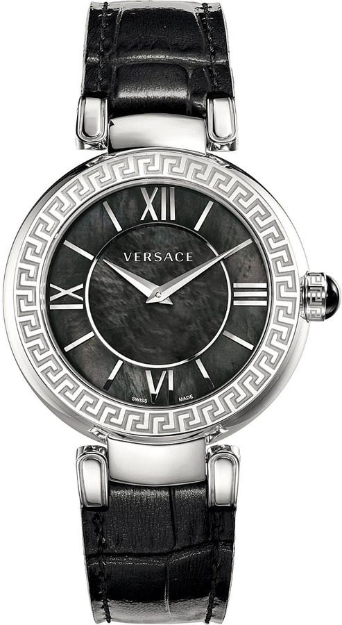 VersaceVersace VNC01 0014 Leda stainless steel watch