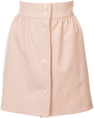 RED Valentino high waisted mini skirt