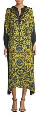Catrina Floral Silk Tunic