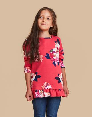 Joules Clothing Mellita Mock Layer Top 32yr