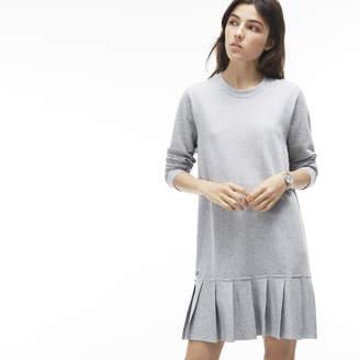 Lacoste (ラコステ) - スウェットプリーツドレス (長袖)
