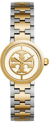 Tory Burch The Reva Two-Tone Stainless Steel Three-Hand Bracelet Watch