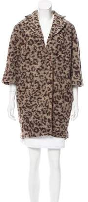 Thakoon Addition Leopard Print Coat