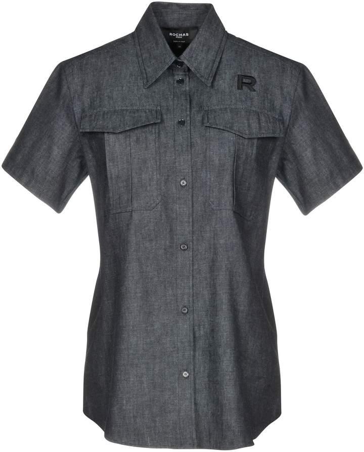ROCHAS Denim shirts