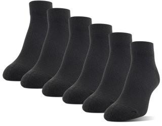 Athletic Works Women's Midcushion Zone Cushion Low Cut Socks, 6 Pairs