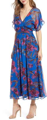 Leith Botanical Print Maxi Dress