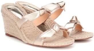 Alexandre Birman Clarita leather espadrille sandals