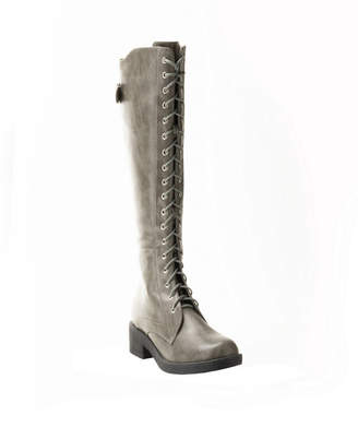 Wanted Infantry Lace Up Combat Boot Women Shoes