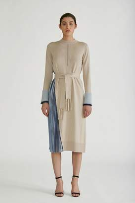 Yigal Azrouel Silk Cashmere Pull Over Dress