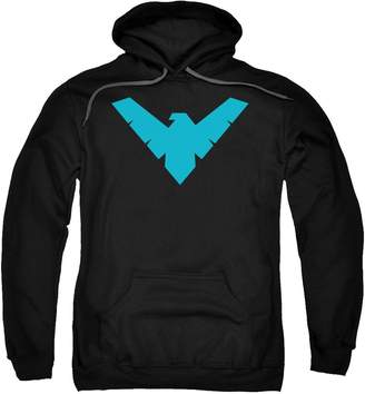 Batman DC Comics Nightwing Symbol Adult Pull-Over Hoodie