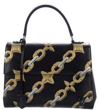 Louis Vuitton Epi Chain Flower Cluny MM Black Epi Chain Flower Cluny MM