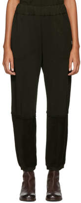 Raquel Allegra Green Jersey Lounge Pants