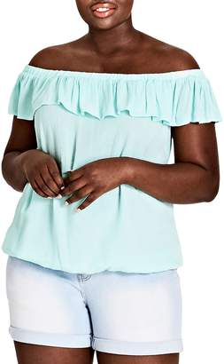 City Chic Summer Delight Top