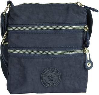 Big Handbag Shop Unisex Fabric Lightweight Mini Messenger Cross Body Shoulder Bag