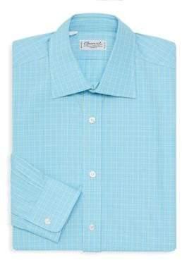 Charvet Check Dress Shirt