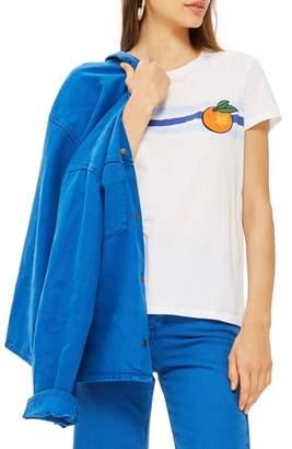 Topshop Satsuma Retro T-Shirt