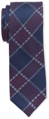 Ben Sherman Silk Slim Laif Plaid Tie