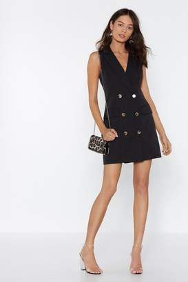 Nasty Gal Follow Suit Blazer Dress