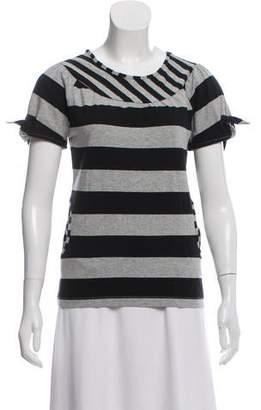 See by Chloe Striped Long Sleeve Top