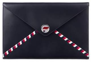 Chanel Airline Envelope Pouch Navy Airline Envelope Pouch