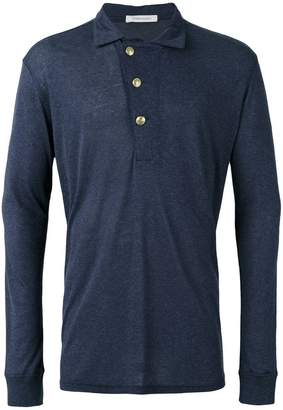 Pierre Balmain long sleeve polo top
