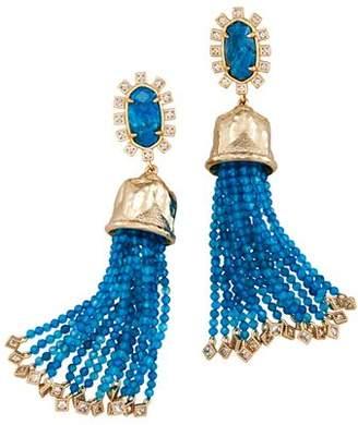 Kendra Scott Decker Bell Tassel Drop Earrings