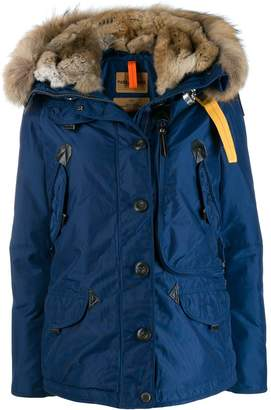 Parajumpers fur trimmed padded coat