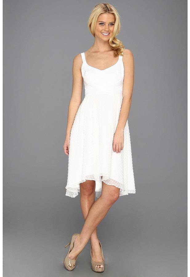 Nanette Lepore Mermaid Dress (White) - Apparel