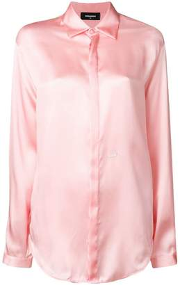 DSQUARED2 satin shirt