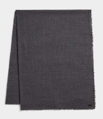 AllSaints Solid Twill Oversize Scarf