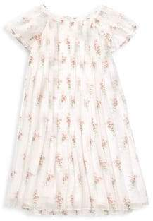 Ralph Lauren Little Girl's& Girl's Pleated Dress