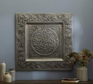 Pottery Barn Decorative Metal Square Wall Art