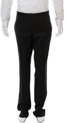 Emporio Armani David Line Virgin Wool Pants