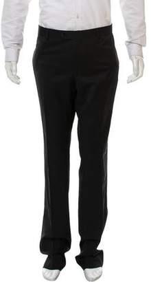 Emporio Armani David Line Virgin Wool Pants