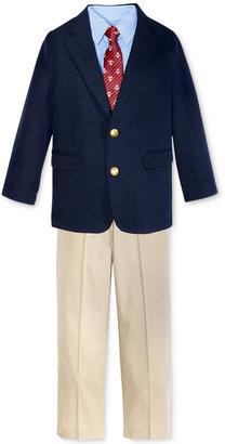 Nautica 4-Pc. Suit Jacket, Shirt, Pants & Necktie Set, Toddler & Little Boys (2T-7) $89.50 thestylecure.com
