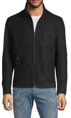 Michael Kors Full-Zip Hipster Jacket