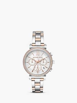 Michael Kors Women's Sofie Chronograph Date Bracelet Strap Watch