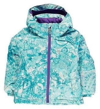 Spyder Bitsy Glam Jacket Infant Girls Waterproof Breathable Chin Guard