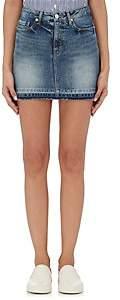 Vis A Vis Women's Cotton Denim Miniskirt