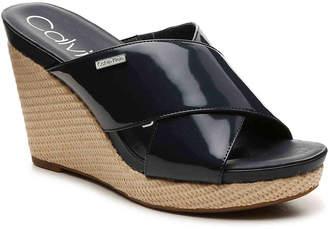Calvin Klein Jacolyn Wedge Sandal - Women's